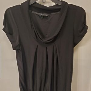 The Limited Black Pleated Blouse Size Medium